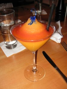 bellini with mermaid charm