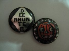 metallic deerhunter buttons