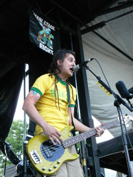 less than jake performing at warped tour 2006