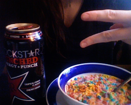 margotsmokes rockstar punched and fruit pebbles