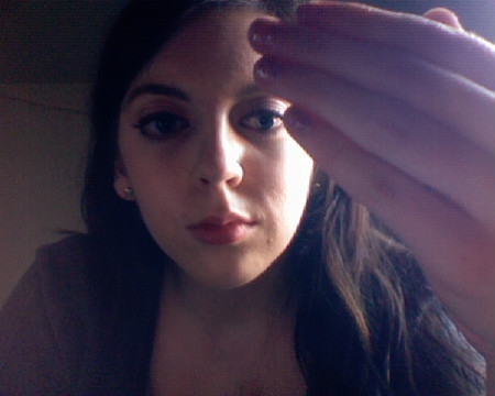 margotsmokes glitter nail polish