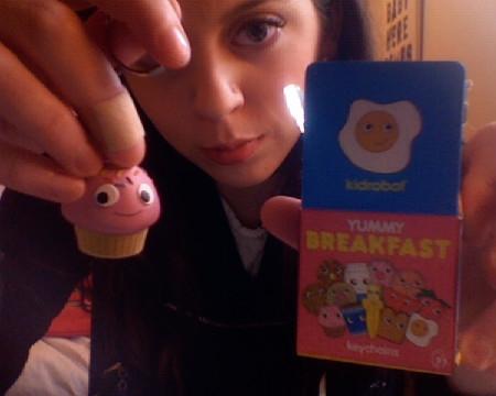 margotsmokes kidrobot yummy breakfast cupcake blindbox