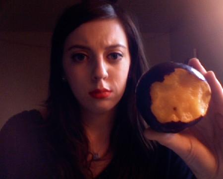 margotsmokes with a suspicious plum