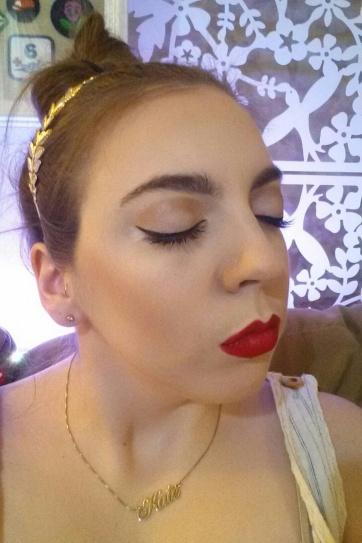 eva marie makeup