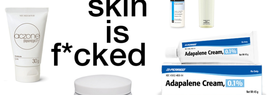 skincare products i would recommend for sensitive acne-prone skin