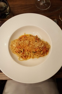 Maryland Blue Crab Spaghettini from DBGB's in DC City Center